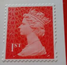GB 2014 NVI 1st class Machin s/a definitive SG U2968b (ex PM42) M14L MCIL code