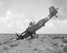 WWII B&W Photo Luftwaffe Ju-87 Stuka Crash WW2 World War Two Germany / 6040