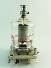 NATIONAL ELECTRONICS RS1007 VACUUM TUBE WITH SOCKET