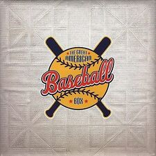 NEW Great American Baseball Box,The [4 CD] (Audio CD)