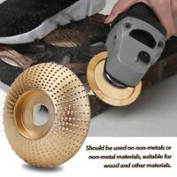 Wood Grinding Wheel Angle Grinder Disc Wood Carving Disc Sanding Abrasive T S5B6
