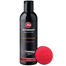 Autobright Cherry Resin Carnauba Creme Car Polish Deep Wet Shine & Applicator