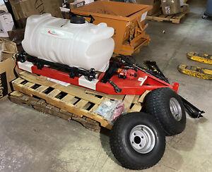 FIMCO ATVTS-60-12V Trailer Sprayer 60 gal Tank 3.8 gpm Flow Rate 45 PSI