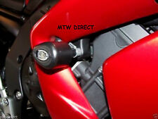 R&G RACING BLACK  AERO CRASH PROTECTORS YAMAHA FZ1-S 2007 WITH LOWER FAIRINGS