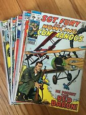Sgt Fury Howling Commandos #76-141 Special Marvel Editions Bronze Age Comic LOT!