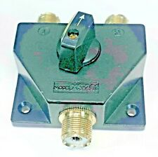 XS-201 Two Position 1000 Watt VHF/UHF coaxial antenna switch SO-239 connections
