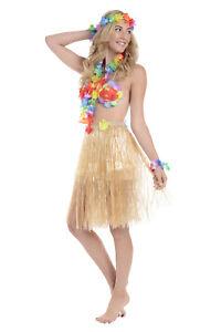 Zac's Alter Ego® Womens Fancy Dress 6-Piece Hawaiian Summer Set Costume