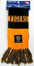 65234 RICHMOND TIGERS AFL FOOTBALL CLOTH PATCH BAR SCARF
