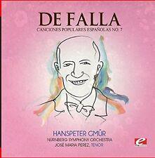 De Falla - Seven Canciones Populares Espanolas 7 Polo [New CD] Manufactured On D