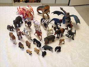 Schleich Drachen Bayala Pferde Dinosaurier Tyrannosaurus Tiere Elefant Sammlung