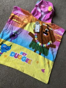 Tu Clothing Sainsburys Hey Duggee Poncho Hooded Towel Happy Roly Betty Swimming