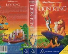 VHS Walt Disney Classics The Lion King