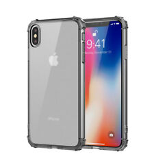 For iPhone 12 Pro Max Mini 11 XS XR 8 7 Shockproof Bumper Clear Phone Case Cover