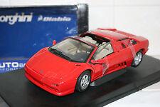 1:18 Autoart Lamborghini Diablo SV Roadster Red 70091