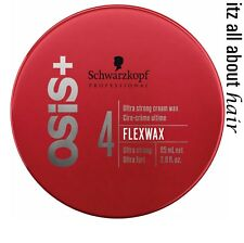 Schwarzkopf OSIS+ 4 FLEX WAX ultra strong cream wax hair wax 50ml x 1