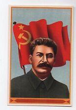 Carte postale patriotique 1940 -1945. Staline.
