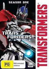 Transformers - Prime : Season 1 (DVD, 2014, 5-Disc Set)-REGION 4--Free postage