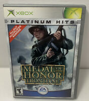 Medal of Honor  Frontline  Microsoft Xbox  2002  Platinum Hits Complete
