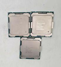 Lot of 3 Intel Xeon E5-2620 V4 2.10 GHz Processor (SR2R6)
