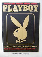 Playboy  Magazine   January 1984  Marilyn Monroe/Christa Speck/Dorothy Stratten