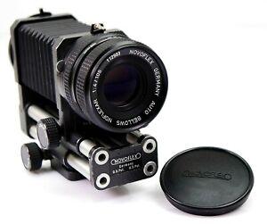 NOVOFLEX NOFLEXAR 1:4/105 mm mit Balgengerät für - for Minolta MD (03919)