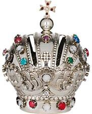 "CORONA IMPERIALE  Bambino di Praga - IMPERIAL CROWN DIAMETER Cm. 16 SILVER ""800"""