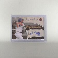 New York Mets daniel murphy trading card-MLB Baseball-original autógrafo