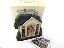 Brandywine Woodcrafts Hometown Village Library Shelf Sitter