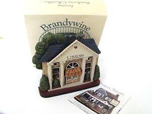 Brandywine Woodcrafts Hometown Village Library Shelf Sitter