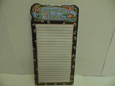 Mary Engelbreit Once Upon A Time Magnetic Notepad 2003- NEW