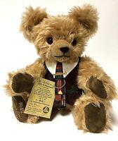 Vintage Rolf G. Hermann Limited Edition Mohair Jointed Growler Teddy Bear 1995