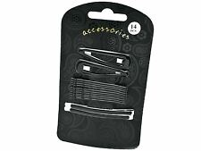 Black Hair Clip Grip Set