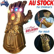 Thanos Gloves Gauntlet Gloves Legends LED Light Avengers Cosplay Gifts DM