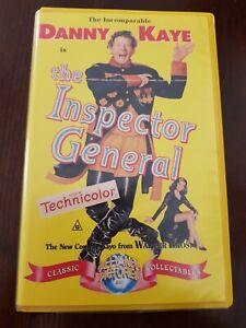 1949 FILM. THE INSPECTOR GENERAL. VHS. ALLIANCE PICTURES. WARNER BROS. BIG CASE.