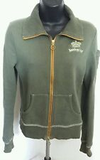Hurley Hooded Sweater - Olive Green - Size M SXS