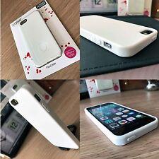 iPhone 5 SE 5S  Xtreme Flexible Case Slim Impact Resistent Micro Gel White
