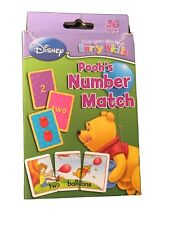 Disney Preschool Early Skills Winnie the Pooh Number Match Game with 36 Cards