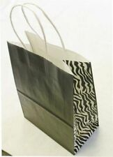 250 All Colors Print Cub Paper Retail Shopping Bags Gift Shopper