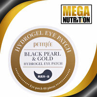 Petitfee Black Pearl & Gold Hydrogel Eye Patch | 60 Patches Cleansing Toner