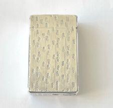More details for colibri of london molectric 88 vintage gas pocket cigarette lighter rare design