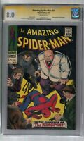 AMAZING SPIDER-MAN #51 SIGNED BY STAN LEE CGC SS GRADED 8.0 MARVEL COMIC BOOK