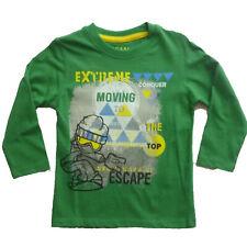 Camiseta manga larga  niño de Losan , verde , talla 2