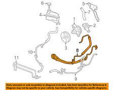 Cadillac GM OEM 04-09 SRX-Power Steering Pressure Hose 19206605