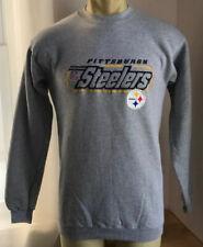 Pittsburgh Steelers Sweatshirt Youth Boys Large 14-16 Puma Gray NFL
