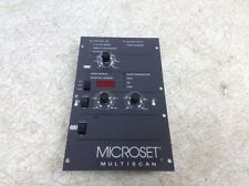 Nordson Microset Multiscan 102168K Temperature Controller Panel 111199F New