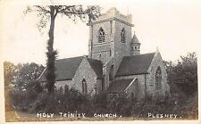 Essex, PLESHEY Holy Trinity Church  - Real Photo.