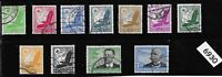 #6930  Complete Stamp set / Airmail Eagles Zeppelin Germany Third Reich era 1934
