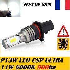 2x P13W PSX26W LED CSP 11W 12V 6000k 900Lm FEUX JOUR DRL 508 A4 Q5 PREMIUM HQ
