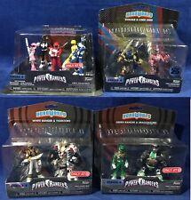 "New 11 FUNKO Hero World POWER RANGERS 4"" Figures PINK Black TIGERZORD Dragonzord"