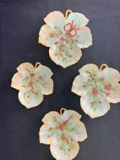 Hand-painted Trinket Candy Dish set of 4